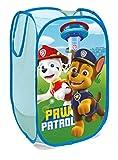 SUPERDIVER Faltbarer Pop-Up Korb für Kinder mit Griffen – Paw Patrol-Motiv I Wäschekorb I...