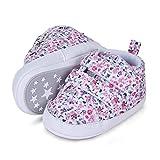 Sterntaler Baby-Schuhe für Mädchen, Klettverschluss, Rutschfeste Sohle, Farbe: Rosa, Größe:...