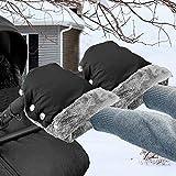 Kinderwagen Handwärmer, Lzfitpot Kinderwagen Handschuhe Handmuff mit Fleece Innenseite, Super Warm...
