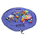 Schramm Aufräumsack Kinder Spielmatte Spielzeugaufbewahrung Spieldecke Beutel mit Tunnelzug Spielzeugtasche Spielzeugsack