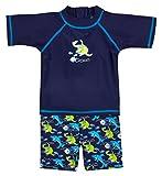 Landora® Baby- / Kleinkinder-Badebekleidung 2er Set mit UV-Schutz 50+ und Oeko-Tex 100...
