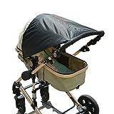 Sonnenschirm für Kinder, Zhiyi Universal Sonnensegel / Kinderwagen Sonnendach, Sonnenverdeck, Sonnenschutz mit UV-Schutz 50+ für Kinderwagen und Buggy