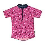 Sterntaler Mädchen Kurzarm-Schwimmshirt, UV-Schutz 50+, Alter: 2 - 3 Jahre, Größe: 86/92, Farbe: Magenta