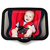 MyHappyRide Rücksitzspiegel fürs Baby, Bruchsicherer Auto-Rückspiegel für Babyschale,...