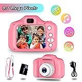 Spielzeuge für 3-6 Jahre Mädchen YORKOO Kinder Kamera HD 1080P Digitalkamera für Kinder...