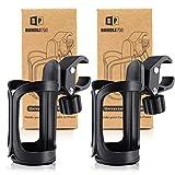 BUNDLEPRO Getränkehalter für Kinderwagen,Universal Getränkehalter für Fahrrad, 2 Stücke,360...