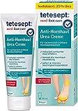 tetesept med foot care Anti-Hornhaut Urea Creme – Fußcreme mit Hydro-Lipid Komplex und 25% Urea...