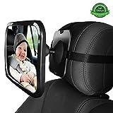 Twins Baby praktischer R/ückspiegel f/ür Babyschale und Kindersitz drehbar /& neigbar
