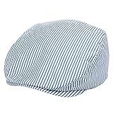 Foruhoo Kinder Schiebermütze für Jungen, Baby Baskenmütze Kapppe Hüte Cap (52, Licht Blau)