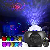LED Sternenhimmel Projektor Lampe Nachtlicht Galaxy Projektor, Starry Projector Light mit Bluetooth...