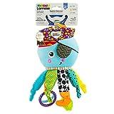 Lamaze Baby Spielzeug 'Captain Calamari, die Piratenkrake' Clip & Go, Hochwertiges Kleinkindspielzeug, Stärkung der Eltern-Kind-Beziehung, Ideales Weihnachtsgeschenk, Baby Spielzeug, 0-6 Monate