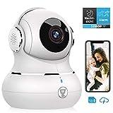 Überwachungskamera, Littlelf 1080P HD WLAN IP Kamera WiFi Kamera mit 360°Schwenkbare Baby Monitor,...