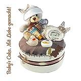 Windeltorte Neutral Geschenk zur Geburt Taufe Babyparty Geschenk zur Geburt Taufe Babyparty/Geschenk zur Geburt, Taufe, Babyparty, für Mädchen und Jungen