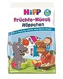 Hipp Bio-Riegel Mini-Mix-Pack Früchte-Müesli-Häppchen, 7er Pack (7 x 100 g)