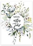 40 Meilensteinkarten Baby Geschenk zur Geburt Babyparty Schwangerschaft Geschenkset Fotokarten...