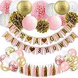 Baby Shower Dekorationen für Mädchen - Pink und Gold Baby Shower Dekoration Es ist EIN Mädchen &...