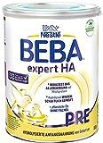Nestlé BEBA EXPERT HA PRE Hydrolysierte Anfangsnahrung für Babys mit Allergie-Risiko,...