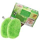 waschies® KIDS 2er Set Waschpads für Babys und Kinder   Waschlappen aus feinstem Fasermix Mikrofaser und Viskose, schonende und gründliche Reinigung   Umweltfreundlich und nachhaltig nur mit Wasser
