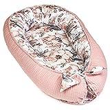 Babynest Neugeborene Nestchen Baby - Kokon Handmade zweiseitig aus Baumwolle mit Oeko-Tex...