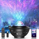 LED-Sternenhimmel Projektor,rotierender Wasserwellen-Sternprojektor ,Ferngesteuertes...
