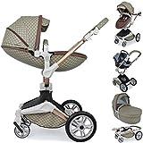 Daliya ® 3in1 360° Turniyo Kinderwagen Kombikinderwagen Buggy mit Babywanne, Sportsitz & Cariyo...