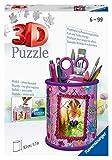 Ravensburger 3D Puzzle 11175 - Utensilo Pferde - 54 Teile - Stiftehalter für Tier-Fans ab 6 Jahren,...