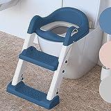 Premium Toilettensitz Kinder mit Treppe von BEARTOP | rutschfest | Kindertoilette Toilettentrainer...