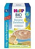 Hipp Bio-Milchbreie ohne Zuckerzusatz-Vorratspackung, nach dem 4. Monat, Gute-Nacht-Brei Banane...