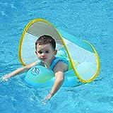 Baby Schwimmring Kinderschwimmhilfe geeignet für Kinder von 3 Monate bis 4 Jahre mit Sonnendach…...