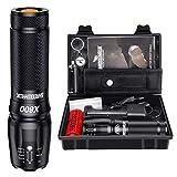 Shadowhawk X800 Led Taschenlampe, Super Helle 3000 Lumen Taschenlampen, Wiederaufladbare Taktische...