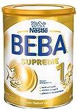 BEBA SUPREME 1 Anfangsnahrung: von Geburt an, Pulver, mit pflanzlichen Ölen, ohne Palmöl, 1er Pack (1 x 800g)