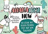 Alpakalypse now – 20 chillige Postkarten mit frechen Sprüchen
