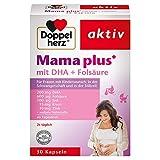 Doppelherz Mama plus Tabletten – Nahrungsergänzungsmittel mit Folsäure zur Unterstützung der...