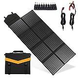 U-Kiss Solar Ladegerät 60W,150W,200W/18V Regenbeständige & Faltbares Solarpanel Outdoor Charger...