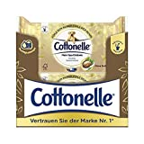 Cottonelle feuchtes Toilettenpapier, mein Spa Erlebnis - Shea Butter, biologisch Abbaubar, wiederverschließbar, Vorteilspack, 12 x 44 Tücher