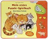 Mein erstes Puzzle-Spielbuch. Meine liebsten Tierkinder: Kiddilight