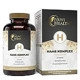 Haar Vitamine - Premium Komplex: Mit D-Biotin, Hirseextrakt, Bambusextrakt, N-acetyl-cystein, Selen,...