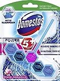 Domestos Power 5+ WC-Stein (für ein sauberes WC Pinke Magnolie mit 5+ Aktiv Blauspüler) ( 7 x 55...