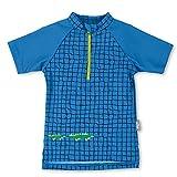 Sterntaler Baby - Jungen Kurzarm-Schwimmshirt, UV-Schutz 50+, Alter: 2-3 Jahre, Größe: 86/92, Farbe: Blau