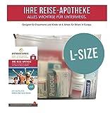 Reiseapotheke von Apotheken-Express (L-Size) 11-teilig inkl. einer Handcreme von Pharma Nature und...