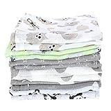 TupTam Baby Mullwindeln Spucktücher 70x80 6er / 12er Pack, Farbe: Unisex, Anzahl der Teile:: 12er...
