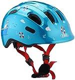 ABUS Smiley 2.0 Kinderhelm - Robuster Fahrradhelm für Mädchen und Jungs - 72570 - Blau mit...