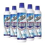 Antikal Kalkreiniger Flüssig (3.75 L) Classic, Reinigung und Kalkentfernung für Küche und Bad (5 x 750 ml)