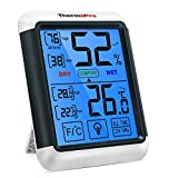 ThermoPro TP55 digitales Thermo-Hygrometer Innen Thermometer Hygrometer Temperatur und...