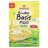 Alnatura Bio Kinder-Basis-Müsli, 6er Pack (6 x 250 g)