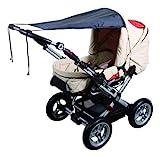 sunnybaby 11272 - Universal Sonnensegel für Kinderwagen & Sportwagen | Sonnenschutz | höchster UV...