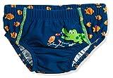 Playshoes UV-Schutz Windelhose Krokodil Schwimmwindel, Blau (Marine 11), 86/92