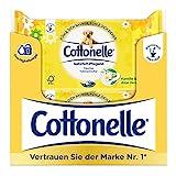 Cottonelle feuchtes Toilettenpapier, natürlich Pflegend - Kamille und Aloe Vera, biologisch...