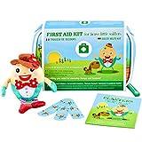 Reisebaby-Erste-Hilfe-Set von Yellodoor   68-Piece MEDICAL GRADE Erste-Hilfe-Tasche für Kinder,...