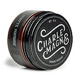 Charlemagne Premium Matte Pomade - Starker Halt - Edler Duft - Matt Look Finish für die Haare - Mattes Haar-Wachs für Männer/Herren - 100ML - Hair Cream hergestellt in UK - Barbier Qualität